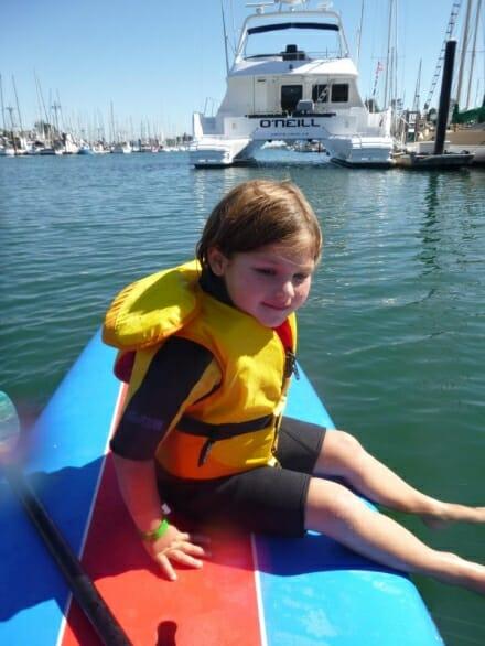 kids paddle board class santa cruz