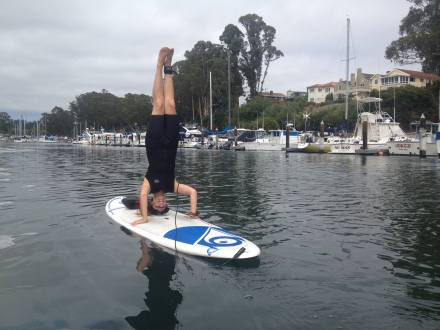 paddle boarding class santa cruz for teens
