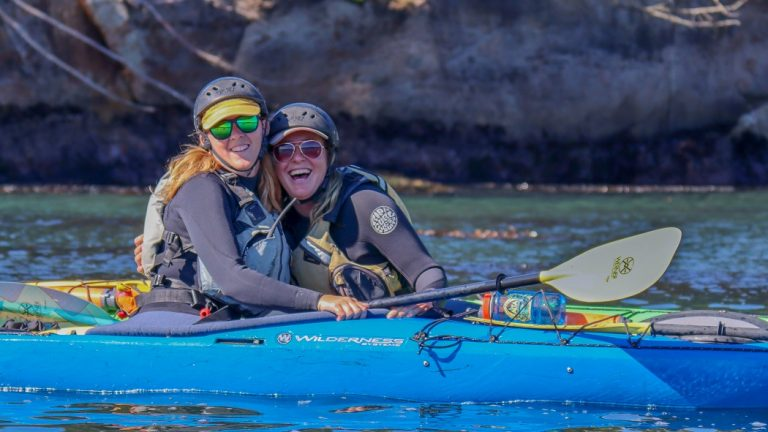 private kayaking class in elkhorn slough