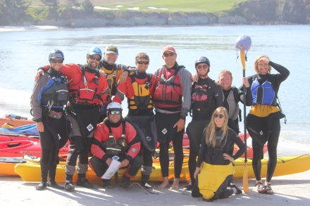 santa cruz kayak bracing maneuvering class