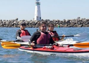 santa cruz kayak tour