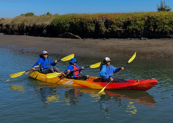 triple kayak rental elkhorn slough